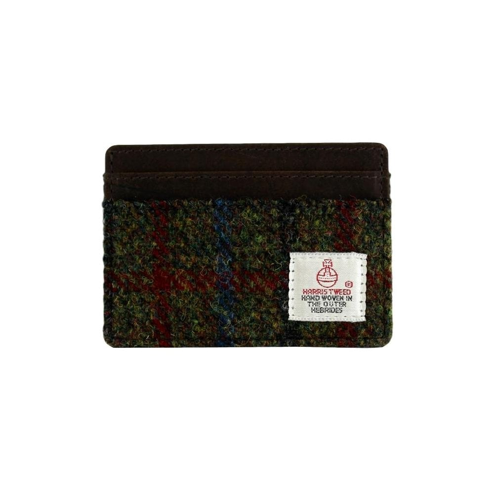 c5e0a2f32913 British Bag Company Breanais Harris Tweed Card Holder - Accessories ...