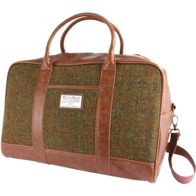 British Bag Company STORNOWAY HARRIS TWEED HOLDALL