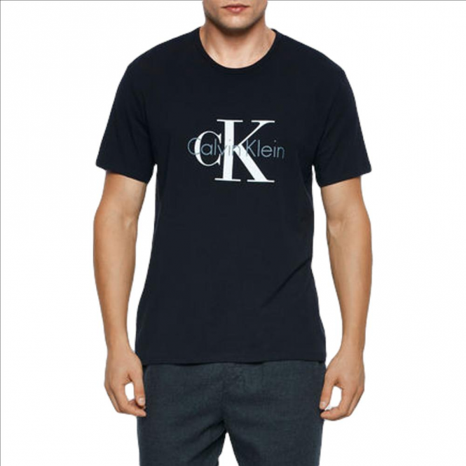Calvin Klein Crew Neck T-shirt-Black