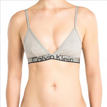 ID Triangle Bra - Grey