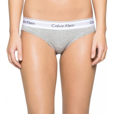 Modern Cotton Bikini Brief - Grey