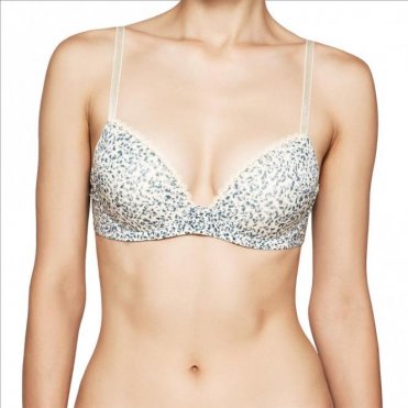 Seductive Comfort Customized Lift Bra - Layered Abstract