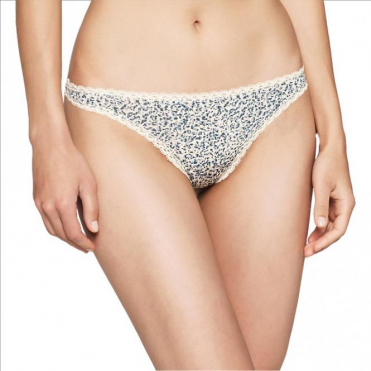 Seductive Comfort Thong - Layered Abstract