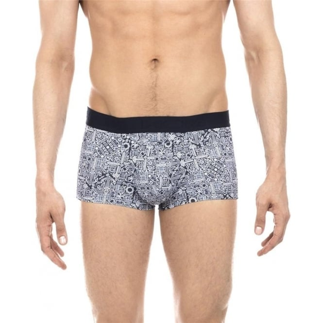 HOM Marseille HO1 Boxer Brief - Navy