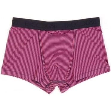 Simon Striped Boxer Brief - Pink