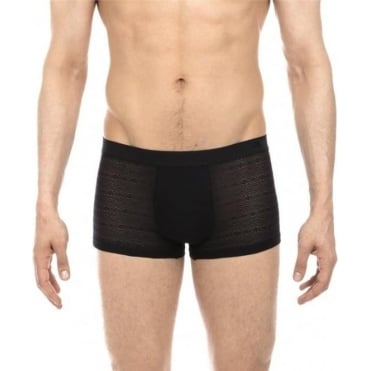 Temptation Beaux Arts Boxer Trunk - Black