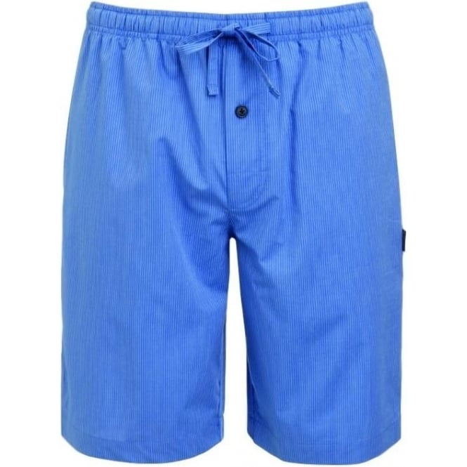 Jockey Blue/White Stripe Woven Short