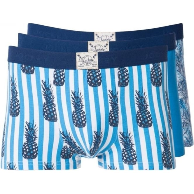 Jockey Miami 3 Pack Short Trunk
