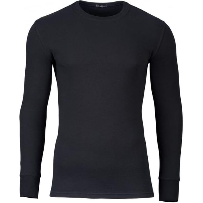 Jockey Modern Long Sleeve Thermal T-Shirt Black