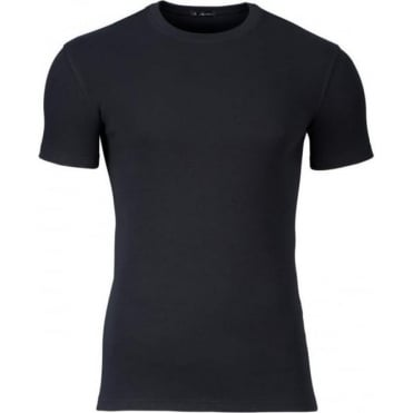 Modern Thermal T-Shirt Black