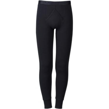 Modern Thermal Y Front Long John Black