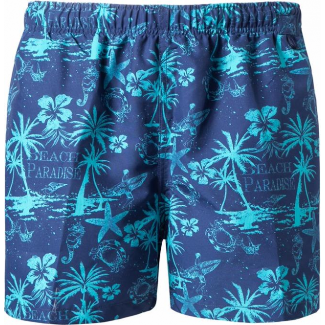 Jockey Paradise Beach Print Swim Shorts