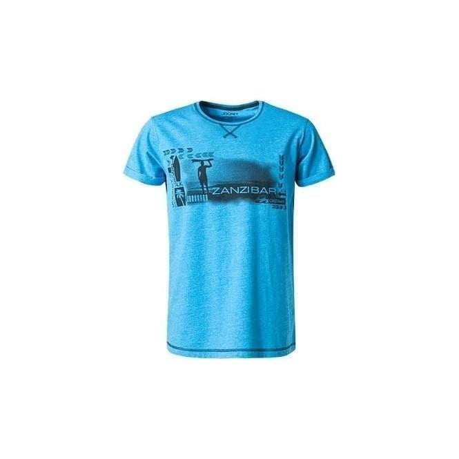 Jockey Surf Print T Shirt