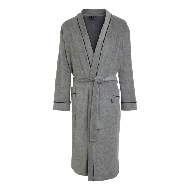 Jockey Terry Bathrobe Grey