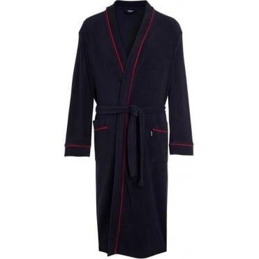 Terry Bathrobe Navy