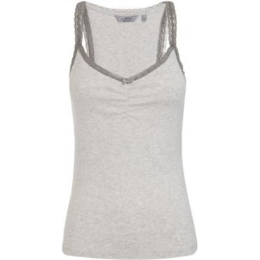 Women Grey Tank Top