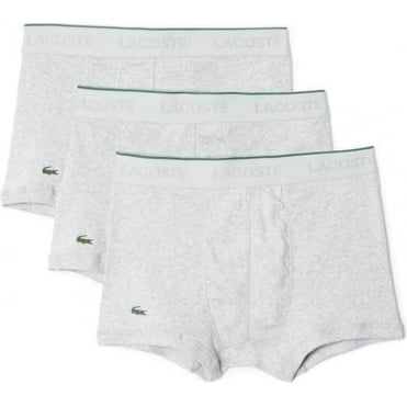 Essentials Collection 3 Pack Supima Cotton Trunk - Grey