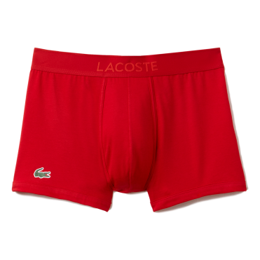 Micro Pique L.12.12 Cotton Modal Stretch Boxer Brief - Red
