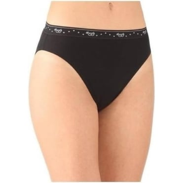 100 Tai Brief 3 Pack Black