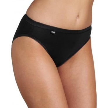 Basic Tai Brief Black 3 Pack