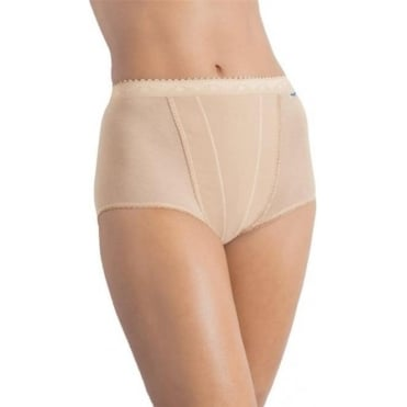 Control Maxi Brief 2 Pack Nude