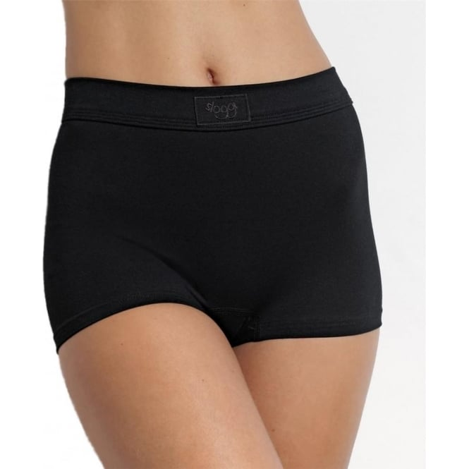 Sloggi Double Comfort Short Brief Black