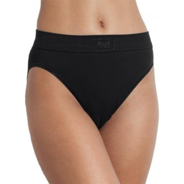 Double Comfort Tai Brief Black