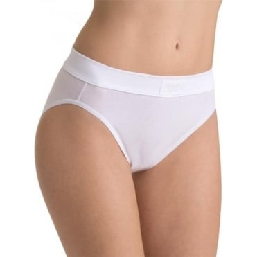 Double Comfort Tai Brief White