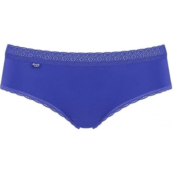 Sloggi Evernew Lace Hipster Brief - Blue