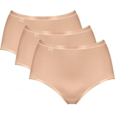 Feel Natural Maxi Brief 3 Pack Nude