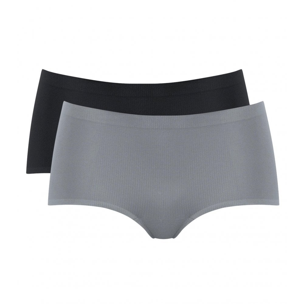 mOve 2 Pack Sports Shorty Brief - Black Grey  40d5354db2a3e