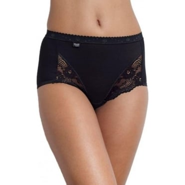 Romance Maxi Brief Black
