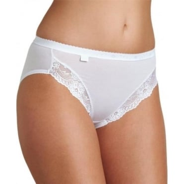 Romance Tai Brief White