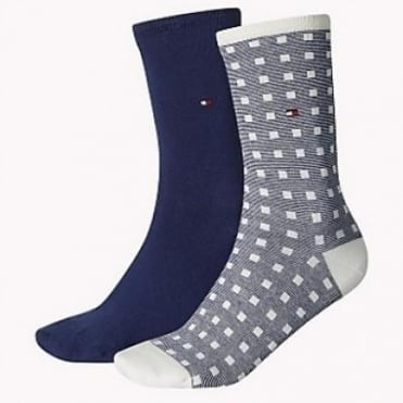 2 Pack Squares Socks - Tommy Classic
