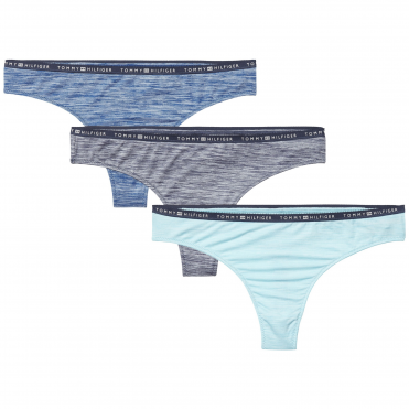 3 Pack Thong - Blue Nights/Poseidon/Aquarelle