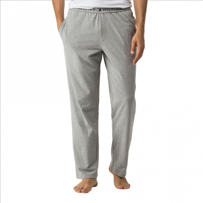 Tommy Hilfiger Cotton Icon Long Pant - Grey