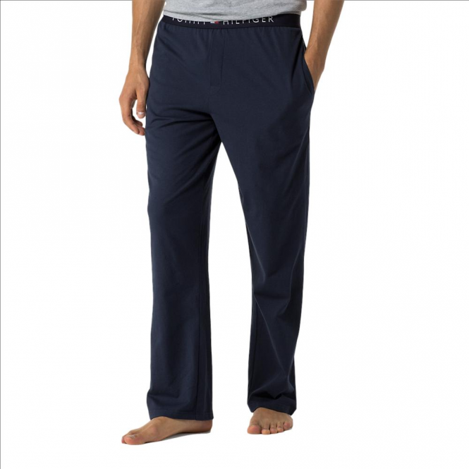 Tommy Hilfiger Cotton Icon Long Pant - Navy