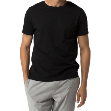 Cotton Icon Short Sleeve T-Shirt - Black
