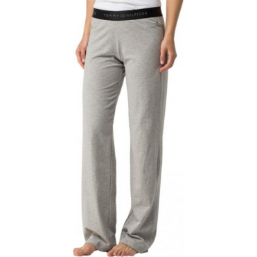 Cotton Iconic Long Pant - Grey