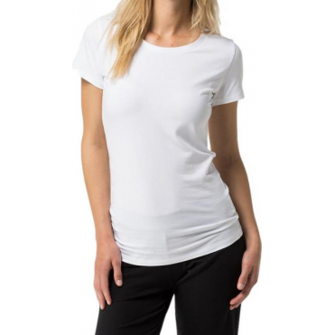 Cotton Iconic Short Sleeve T-Shirt - White