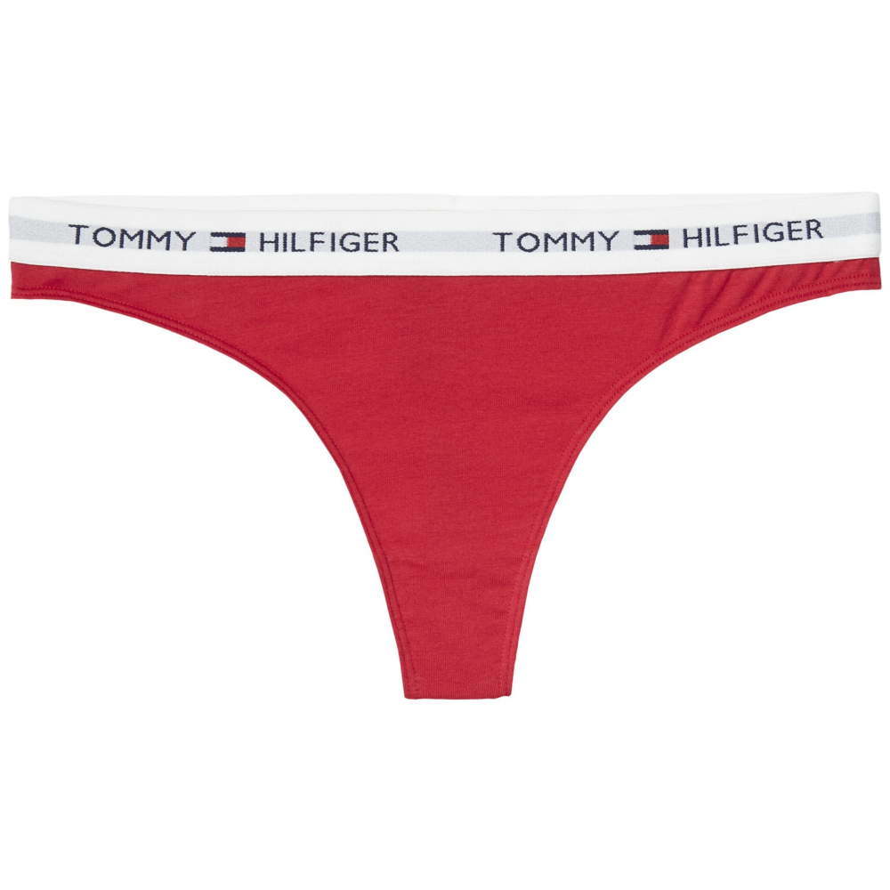tommy hilfiger red thong