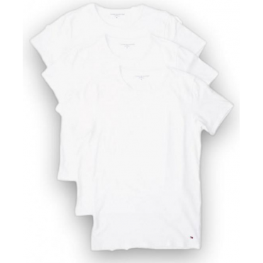 Premium Essential Crew Neck T-shirt 3 Pack - White