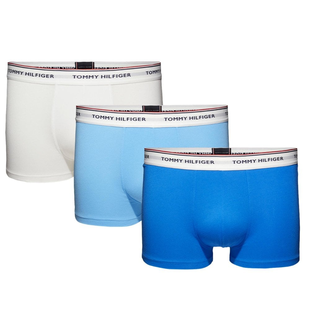 ab58397fca01f6 Premium Essential Stretch Trunk 3 Pack - Ethereal Blue Directoire Blue White