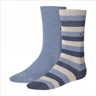 Regency Striped Socks 2-Pack Tommy Mid Summer