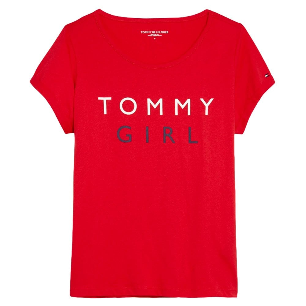 30af1061 Womens Tommy Logo T Shirt | Kuenzi Turf & Nursery